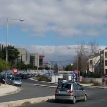 Amarisias Artemidos, zicht op The Mall Athens
