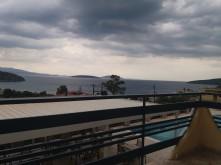 Uitzicht vanaf Gregory Apartments